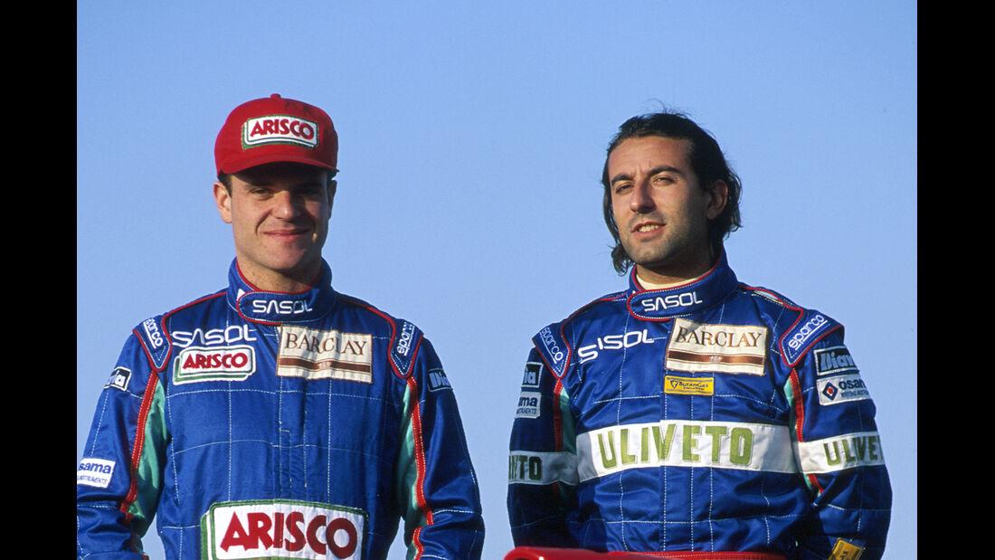 Rubens Barrichello & Ivan Capelli