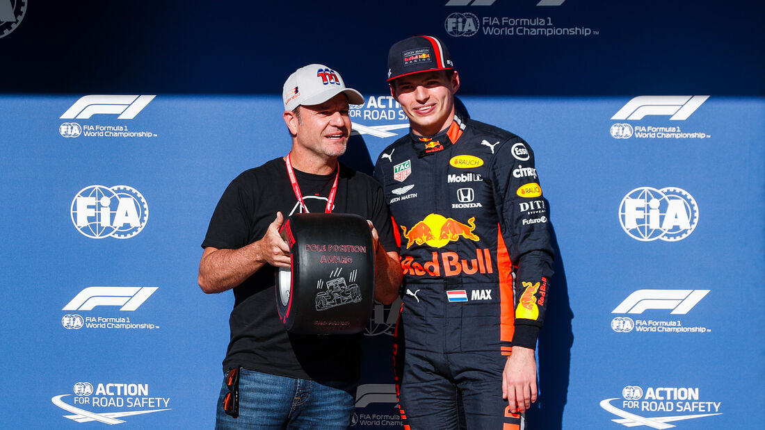 Rubens Barrichello & Max Verstappen - Formel 1 - GP Brasilien - Sao Paulo - 16. November 2019