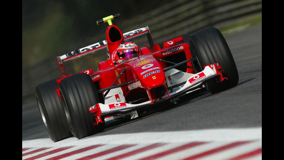 Rubens Barrichello  - Monza  - 2004