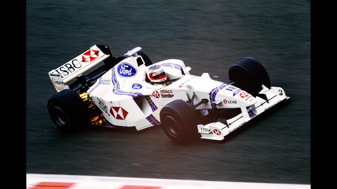 Rubens Barrichello - Stewart SF2 - GP Belgien 1998