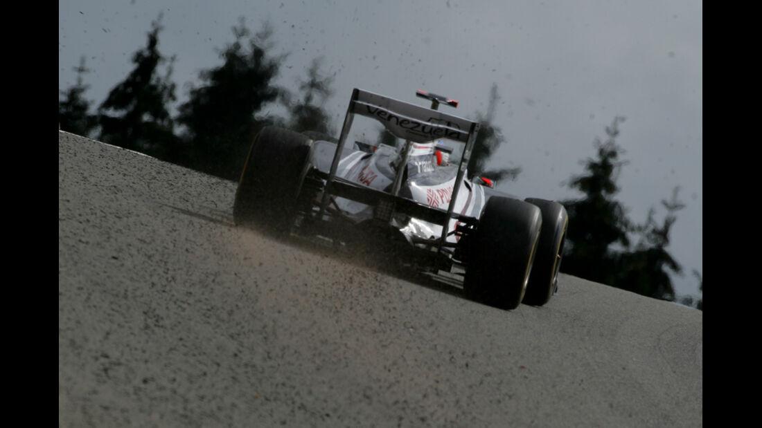 Rubens Barrichello Williams GP Belgien 2011