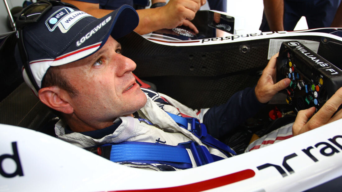 Rubens Barrichello - Williams - GP Brasilien 2011