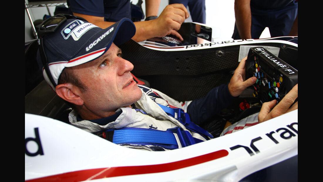 Rubens Barrichello - Williams - GP Brasilien 2011