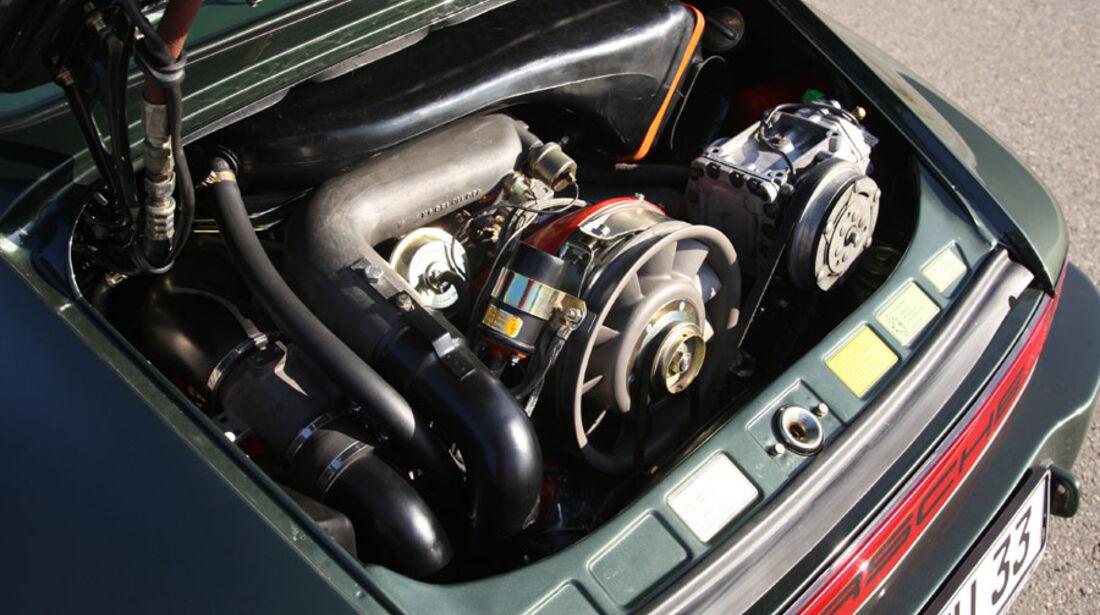 Ruf-Porsche 911 Turbo Motor