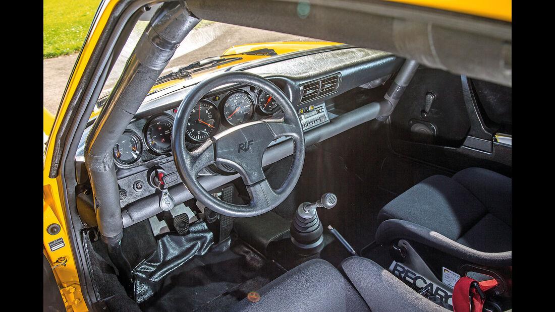Ruf-Porsche CTR, Cockpit