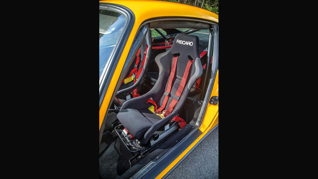 Ruf-Porsche CTR, Fahrersitz