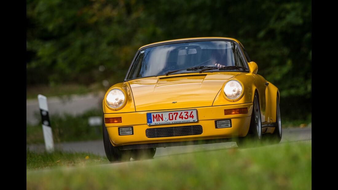 Ruf-Porsche CTR, Frontansicht