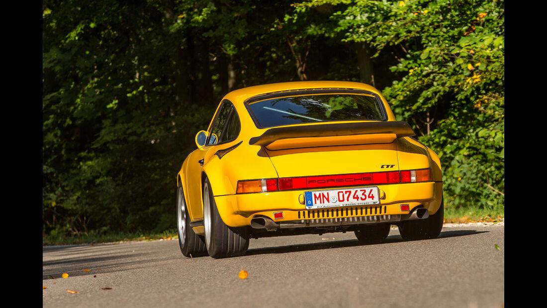 Ruf-Porsche CTR, Heckansicht