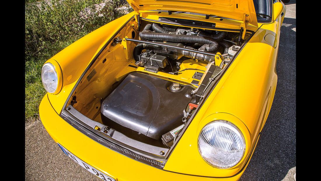 Ruf-Porsche CTR, Stauraum