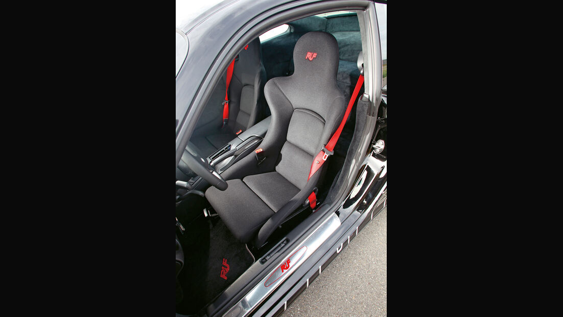 Ruf RGT-8, Sitze