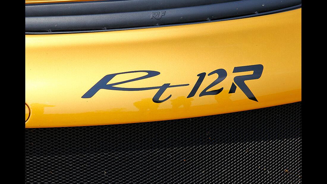 Ruf RT 12 R, Detail, Typenbezeichnung