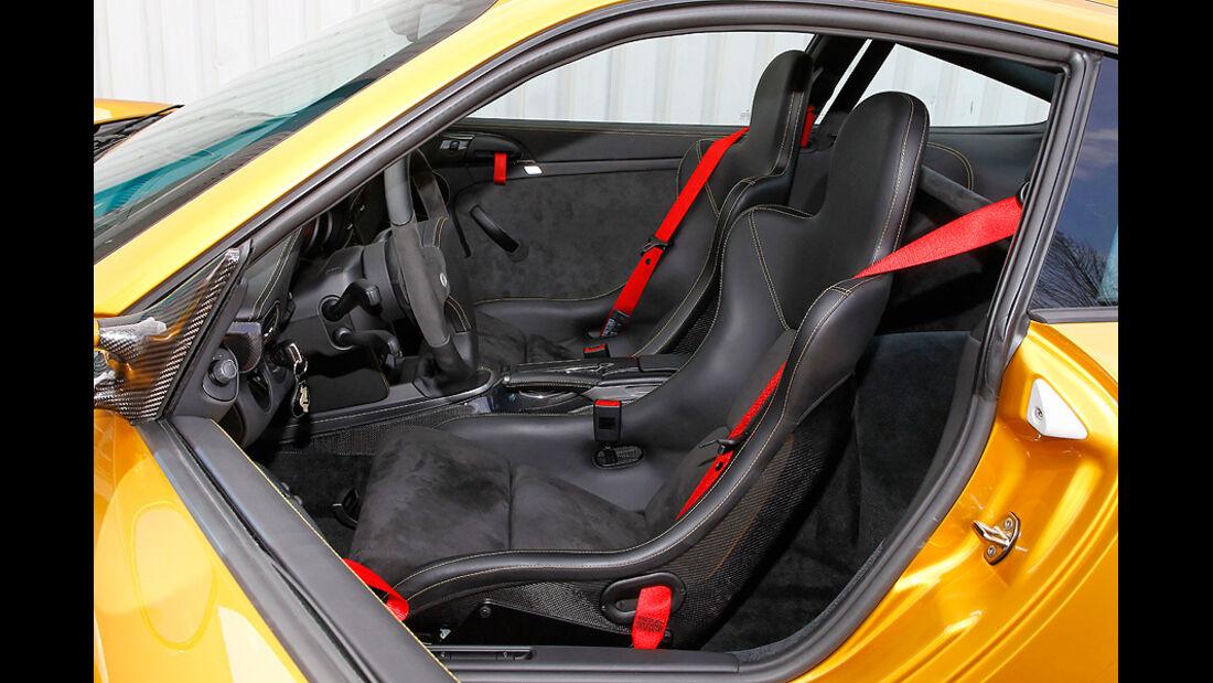 Ruf RT 12 R, Fahrersitz