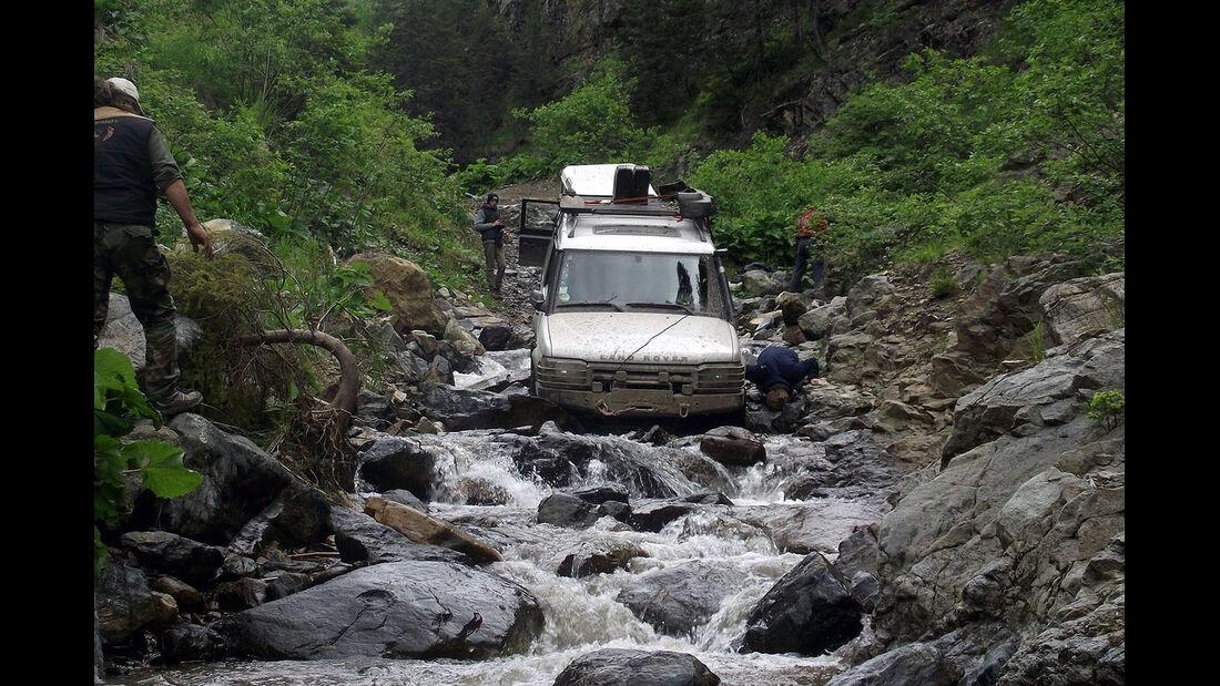 Rumänien Karpaten Offroad-Tour 4x4 Adventures