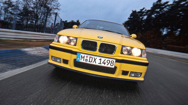 Rundenzeit-Entwicklung Nordschleife, BMW M3 E36