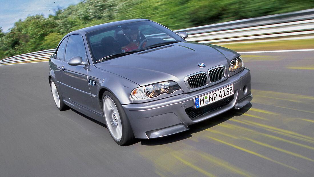 Rundenzeit-Entwicklung Nordschleife, BMW M3 E46 CSL