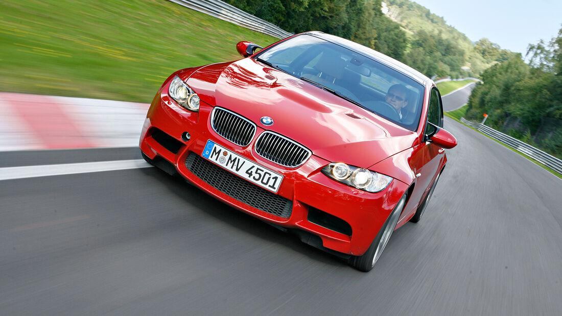 Rundenzeit-Entwicklung Nordschleife, BMW M3 E92