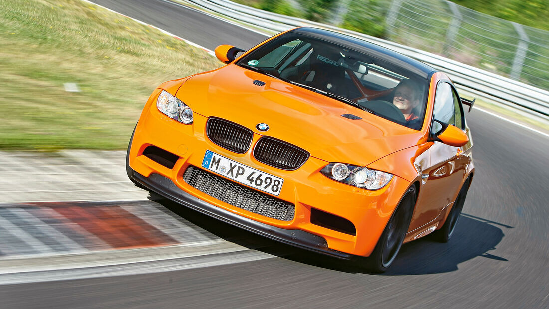 Rundenzeit-Entwicklung Nordschleife, BMW M3 E92 GTS