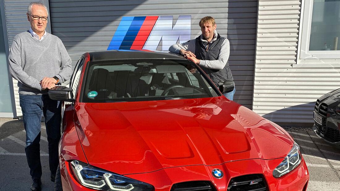 Rundenzeit-Entwicklung Nordschleife, BMW M3/M4