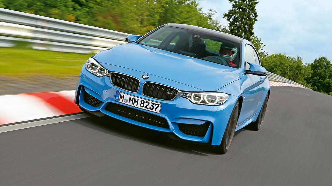 Rundenzeit-Entwicklung Nordschleife, BMW M4 F82