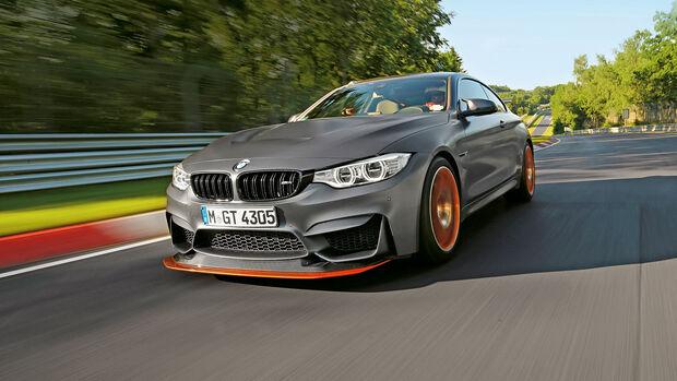 Rundenzeit-Entwicklung Nordschleife, BMW M4 F82 GTS