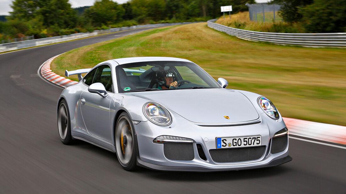 Rundenzeit-Entwicklung Nordschleife, Porsche 991.1 GT3