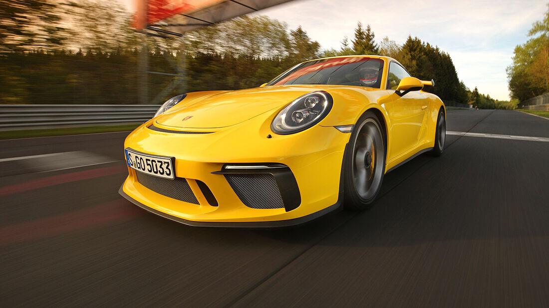 Rundenzeit-Entwicklung Nordschleife, Porsche 991.2 GT3