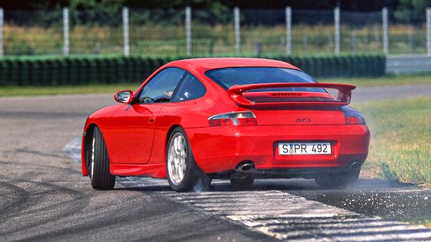 Rundenzeit-Entwicklung Nordschleife, Porsche 996.1 GT3