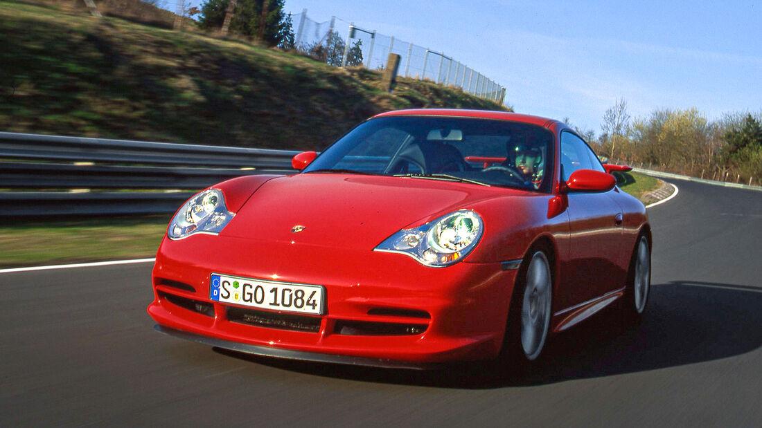 Rundenzeit-Entwicklung Nordschleife, Porsche 996.2 GT3