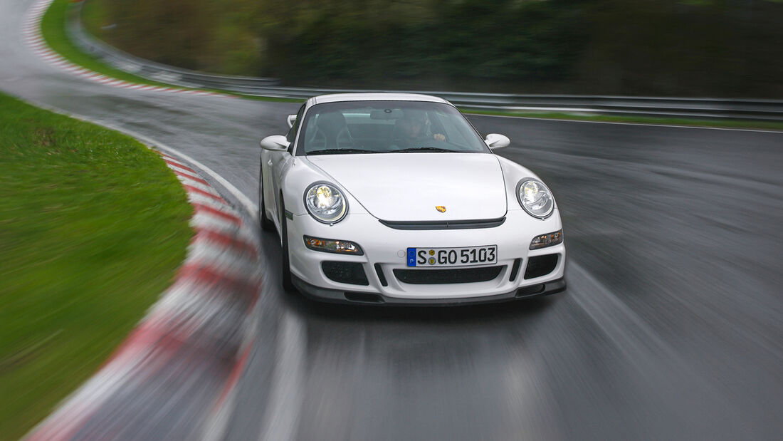 Rundenzeit-Entwicklung Nordschleife, Porsche 997.1 GT3
