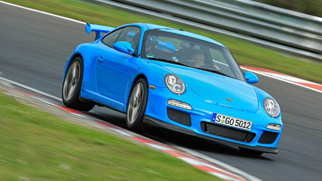 Rundenzeit-Entwicklung Nordschleife, Porsche 997.2 GT3