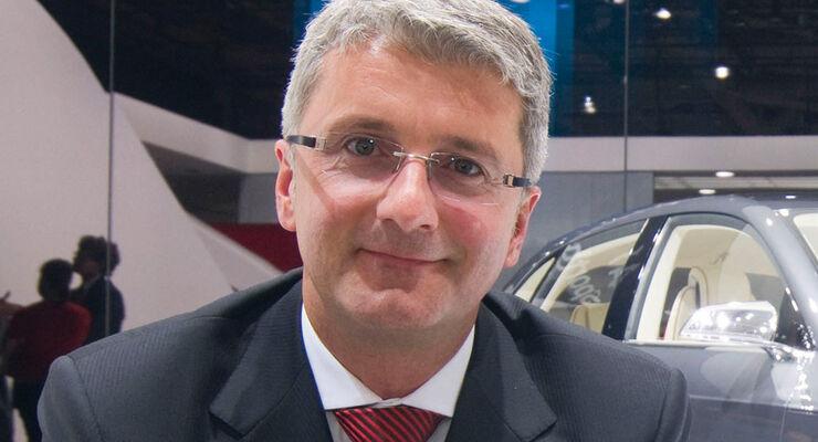 Rupert Stadler, Audi-Vorstandsvorsitzender