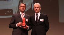 Rupert Stadler (li.) Vorstandsvorsitzender Audi AG, mit Bernd Ostmann, Chefredakteur auto motor und sport