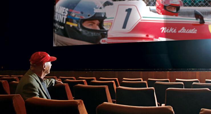 Rush Film - Lauda Montage Kino