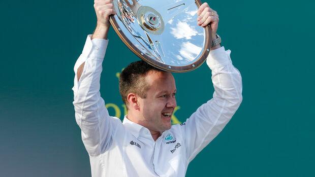 Russell Cooley - Mercedes - GP Australien 2016