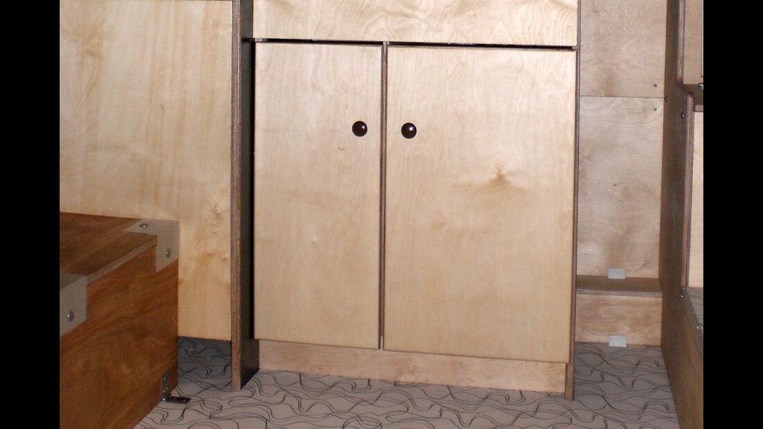 Rustikab Wohnkabine Innenausbau