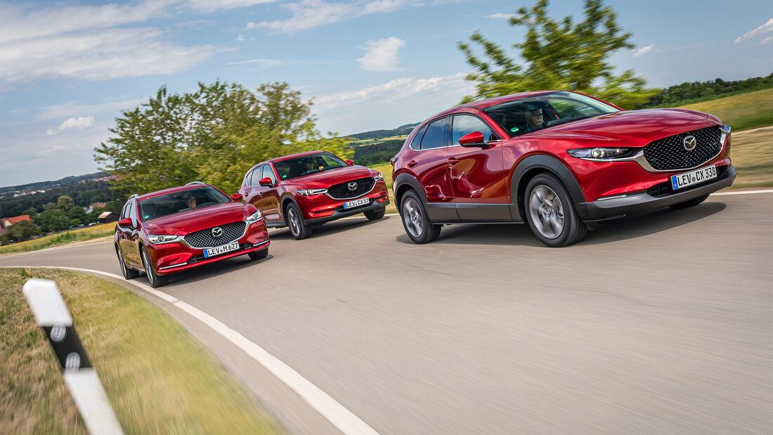 S.48 VT Mazda 6 Kombi, CX-30 und CX-5