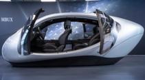 S-Klasse 2020 MBUX Cockpit