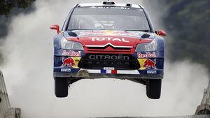 Sébastien Loeb Rallye Neuseeland 2010 Citroen C4 WRC