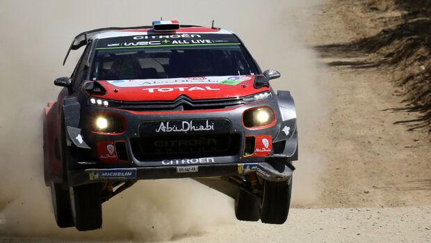 Sébastien Loeb - Rallye-WM - Mexiko 2018 - Citroen C3