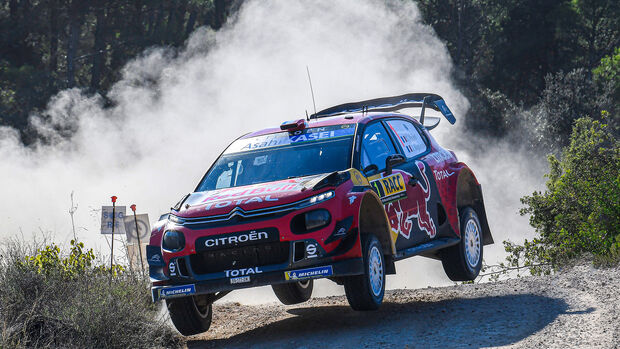 Sébastien Ogier - Citroen C3 WRC - Rallye Katalonien 2019