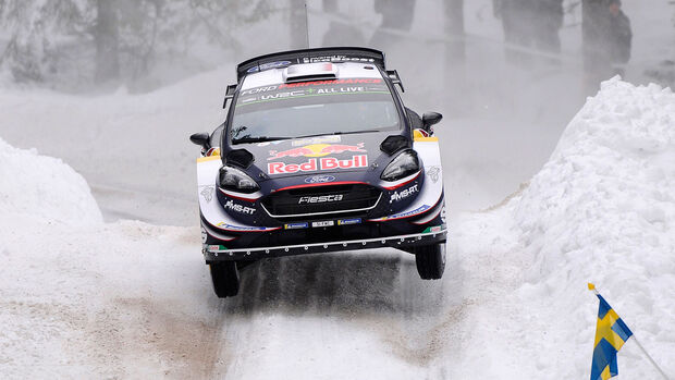 Sébastien Ogier - Ford Fiesta WRC - Rallye Schweden 2018