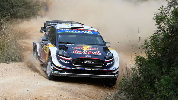 Sébastien Ogier - Ford Fiesta WRC - Rallye Spanien 2018 - Katalonien