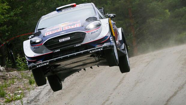Sébastien Ogier - Ford Fiesta WRC - Rallye-WM - WRC Finnland