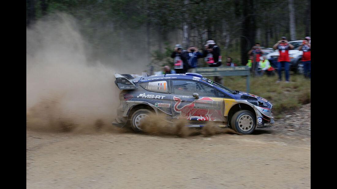 Sébastien Ogier - Ford M-Sport - Rallye Australien 2017