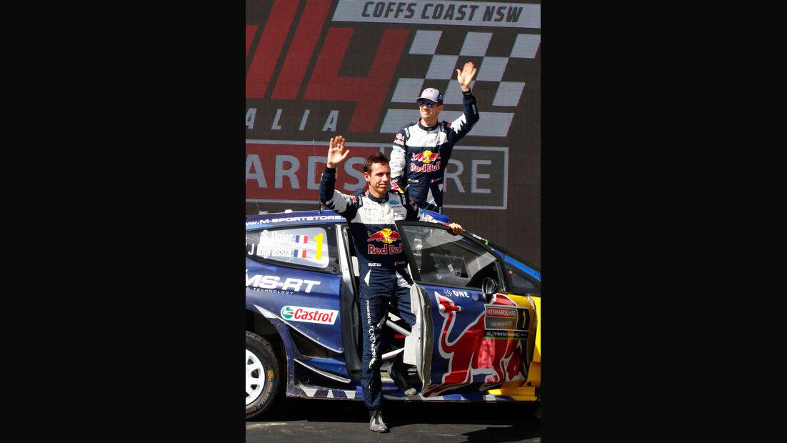 Sébastien Ogier - Julien Ingrassia - Ford M-Sport - Rallye Australien 2017