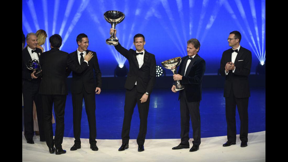 Sébastien Ogier - Malcolm Wilson - FIA Preisverleihung - Versailles