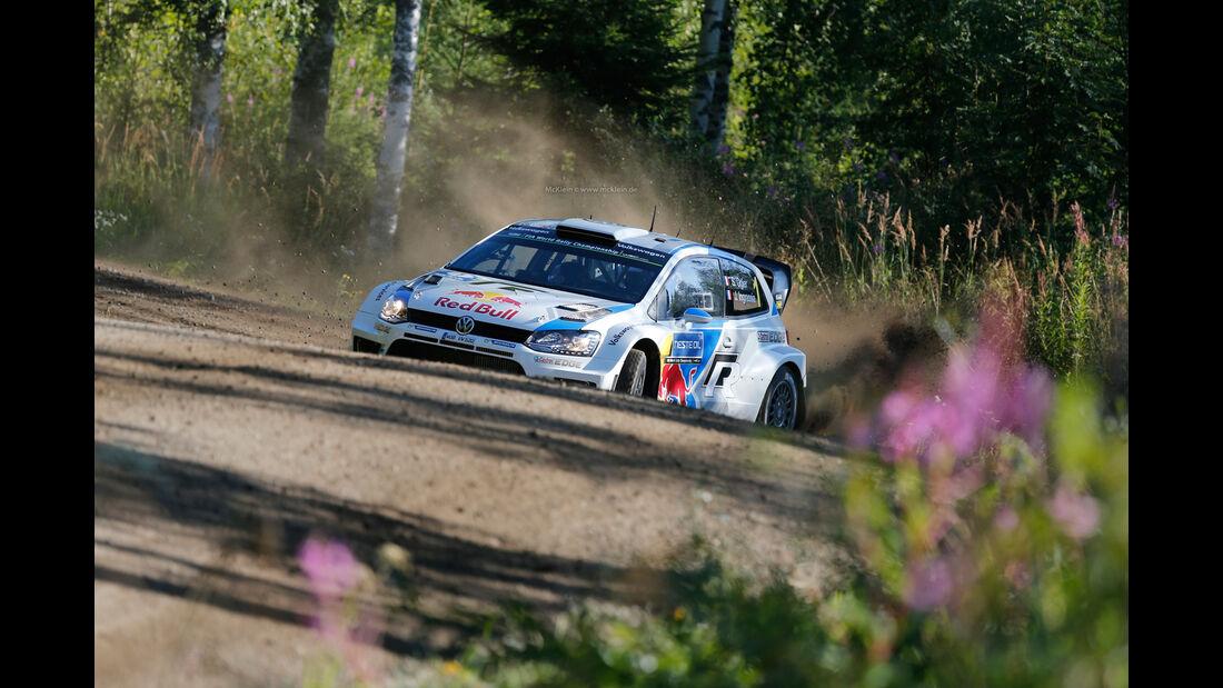 Sébastien Ogier - Rallye Finnland 2014 - WRC - Tag 4 - VW Polo R WRC