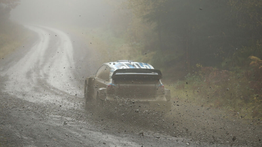 Sébastien Ogier - VW - Rallye-WM - Wales - Großbritannien 2016