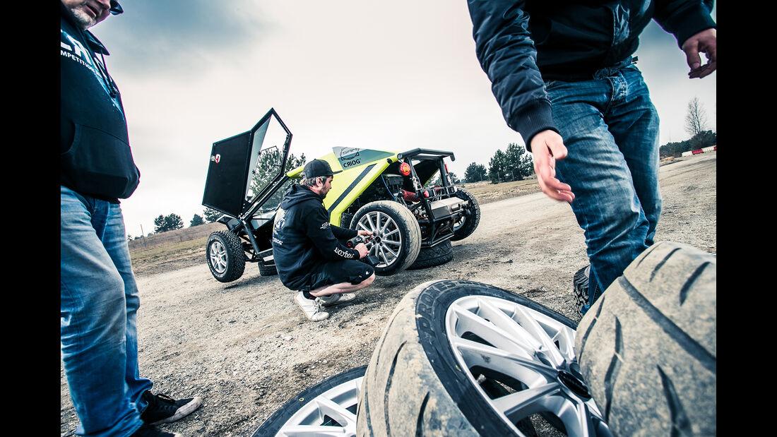SAM Criog Seite Reifenwechsel