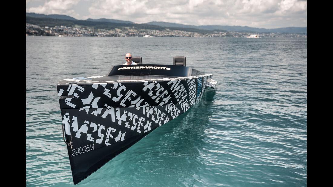 SAY29E Runabout Carbon Elektro-Yacht Kreisel Electric